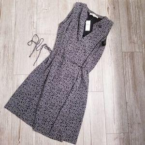 NWT Ann Taylor Loft black and white dress